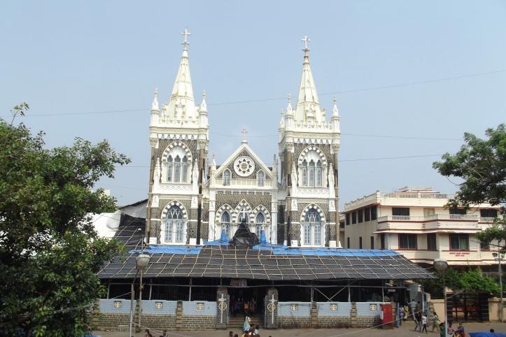The Mount Mary Basilica in Bandra