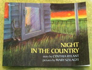 NIGHT IN THE COUNTRY: By Cynthia Rylant (Book Review on mirandavoice.com)