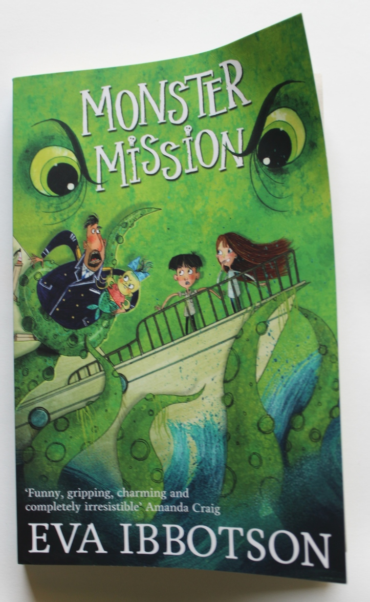 Book - Monster Mission by Eva Ibbotson (Book Review in mirandavoice.com)