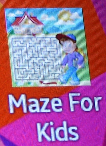 Icon of App - Maze for Kids