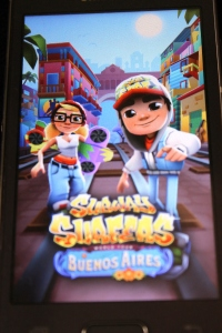 Subway Surfers gaming app ( App Review on mirandavoice.com)