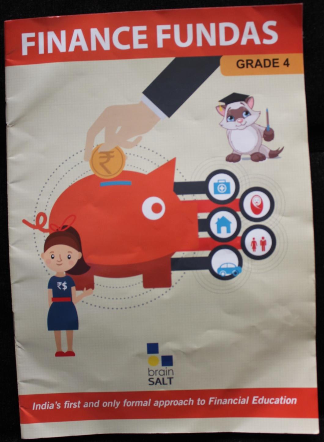 Educational Book - FINANCE FUNDAS by Brainsalt Education (Book Review in mirandavoice.com)