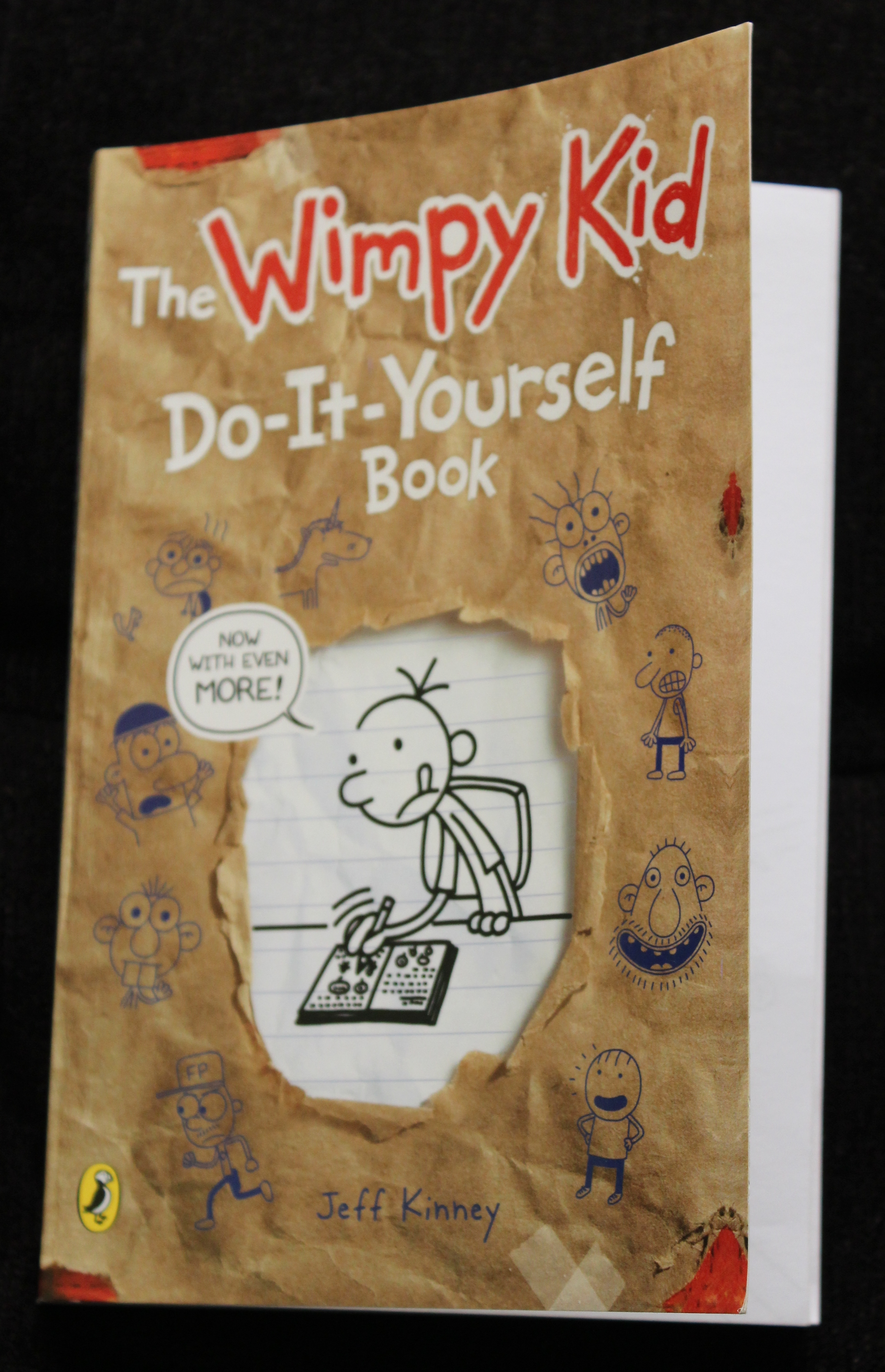 The Wimpy Kid - Do-It-Yourself Book by Jeff Kinney (Book Review in mirandavoice.com)