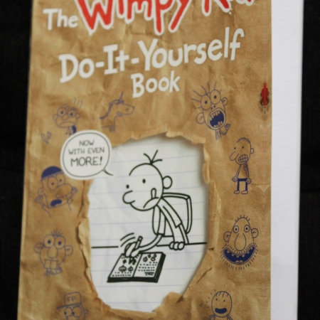 Book review mirandavoice the wimpy kid do it yourself book by jeff kinney bookreview solutioingenieria Image collections