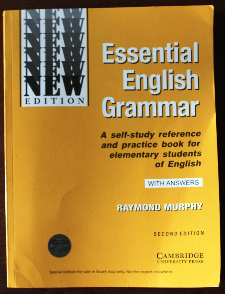 Book: Essential English Grammar (Second Edition) by Cambridge University Press Author: Raymond Murphy - Book Review in mirandavoice.com