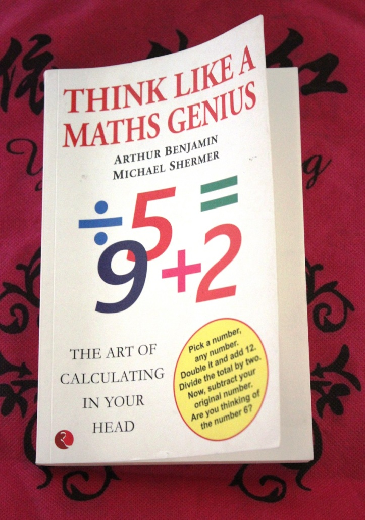 Educational Book: THINK LIKE A MATHS GENIUS - Book Review in mirandavoice.com